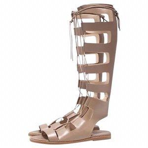 Zara Nude Roman Gladiator Sandals